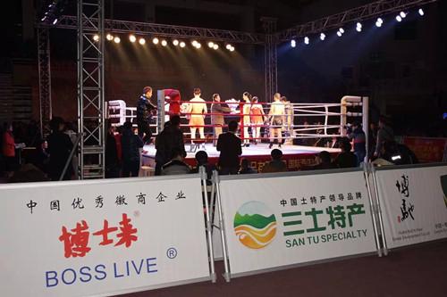 博士来公司赞助2014世界好功夫拳王争霸赛